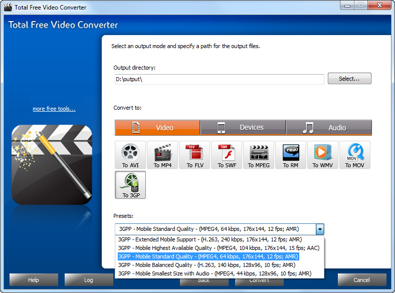 Total Free Video Converter