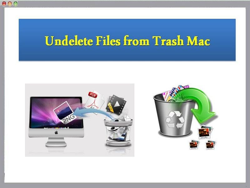 Undelete Files from Trash Mac