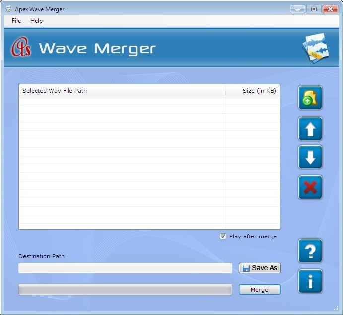 Wave File Combiner Software