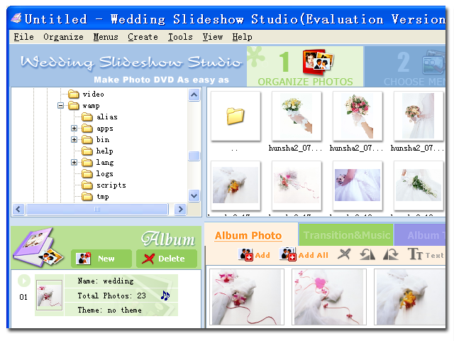 Wedding Slideshow Studio