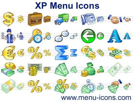 XP Menu Icons