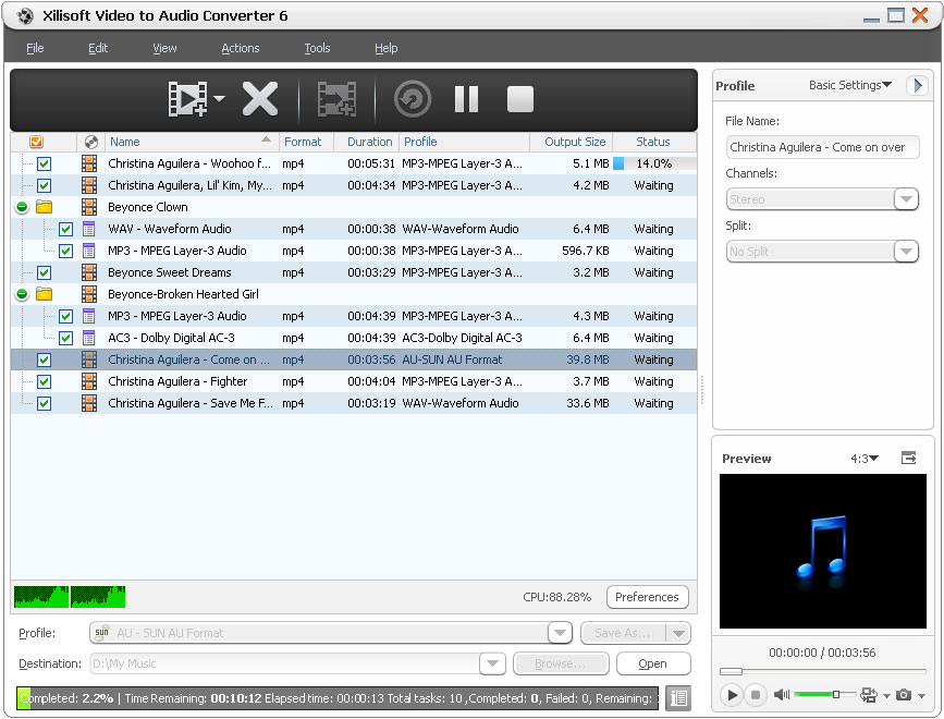 With other similar software, xilisoft 3gp video ripper has many additional features such mpegvaipared mpeg