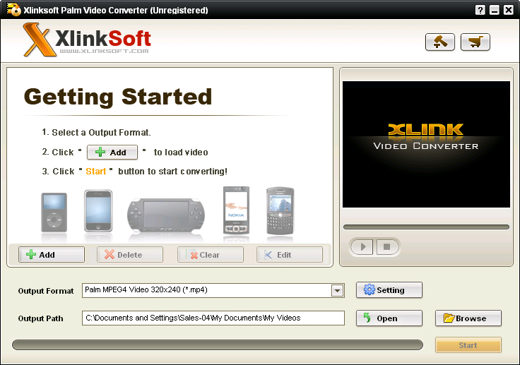 Xlinksoft Palm Converter