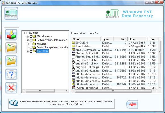 Corrupt Partition Recovery