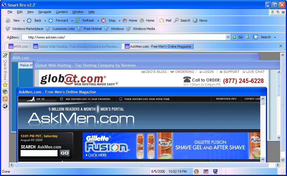 Free web browser download