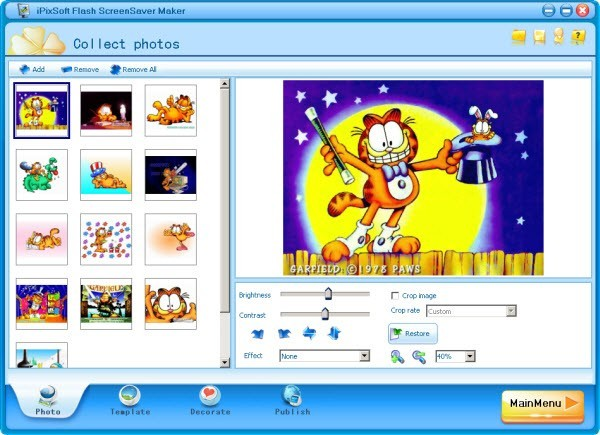 iPixSoft Flash ScreenSaver Maker