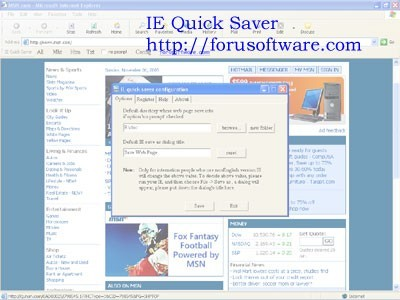 ie quick saver