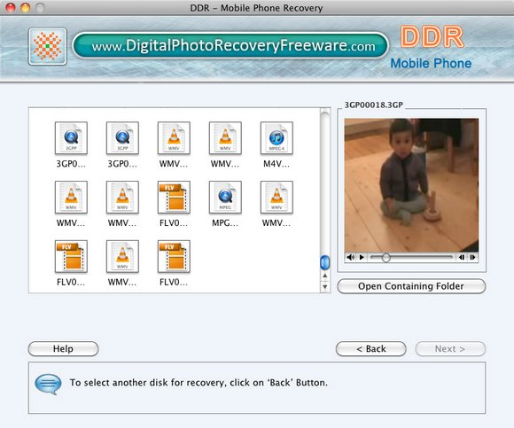 Mobile Phone Mac Recovery