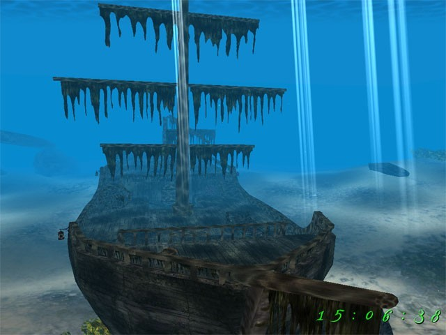 Pirate Ship 3D Screensaver: The Pirates of the Car