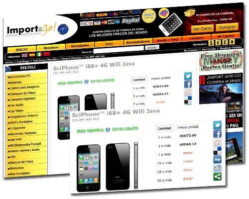 SciPhone 4G i68
