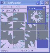 Screenshot of 15 Slide Puzzle