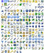 Screenshot of 32x32 Free Design Icons