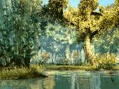 Screenshot of 3D Fantasy River Screensaver