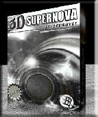 Screenshot of 3D Supernova Screensaver