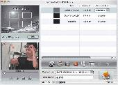 3herosoft AVI to DVD Burner for Mac Screenshot