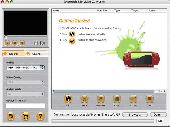 3herosoft PSP Video Converter for Mac Screenshot