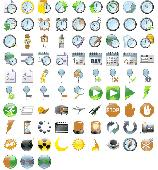 Screenshot of 48x48 Free Time Icons