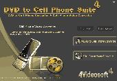 4Videosoft DVD to Cell Phone Suite Screenshot
