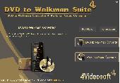 4Videosoft DVD to Walkman Suite Screenshot