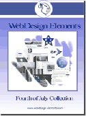 Screenshot of 4th of July Web Elements
