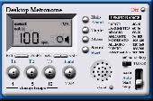 Screenshot of Desktop Metronome