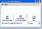 Screenshot of Duplicate MP3 File Find Software