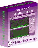 Virtins Sound Card MultiInstrument Screenshot