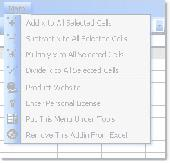 Excel Add, Subtract, Multiply, Divide All Cells Software Screenshot
