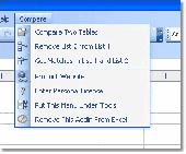 Excel Compare Data in Two Tables Software Screenshot