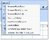 Excel Remove (Delete) Blank Rows, Columns or Cells Software Screenshot