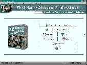 First Name Almanac Screenshot