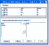MS Access Add, Subtract, Multiply, Divide Fields Software Screenshot