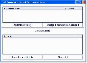 MS Access Extract Email Addresses Software Screenshot