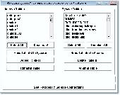 MS Access Sybase Anywhere Import, Export & Convert Software Screenshot