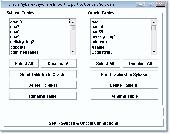 Oracle Sybase Import, Export & Convert Software Screenshot