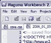 Maguma Workbench Screenshot