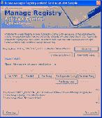 Manage Registry ActiveX Control Screenshot