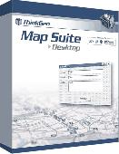 Screenshot of Map Suite Desktop