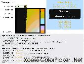 Screenshot of Xcess Color Picker .Net