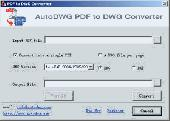 AutoDWG  PDF to DWG Converter Screenshot