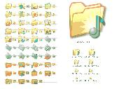 Screenshot of Folder Icon Set