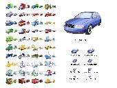 Transport Icon Set Screenshot