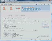 Screenshot of BlazingTools Secure Office