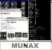 MUNAX Search Engine Screenshot