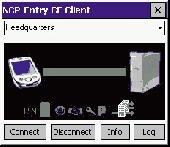 NCP Secure Entry CE Client Screenshot