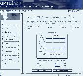 Optenet PC Screenshot