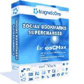 Social Bookmarks Supercharged - osCMax Module Screenshot
