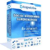 Social Bookmarks Supercharged - Zen Cart Module Screenshot