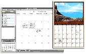 Screenshot of Web Calendar Pad