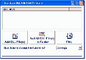 Duplicate DLL File Find Software Screenshot